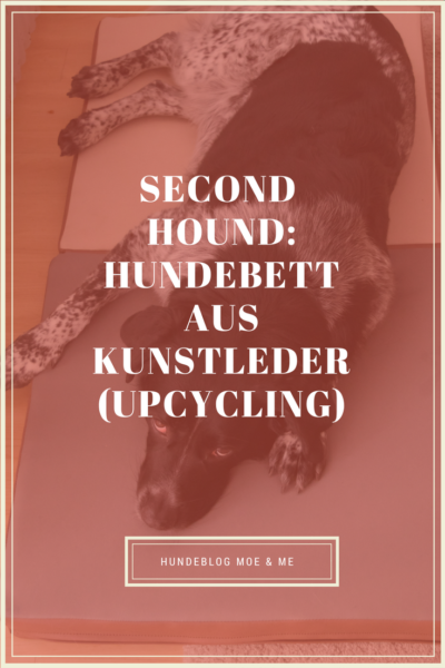 Second Hound - Hundebett aus Kunstleder (Upcycling)