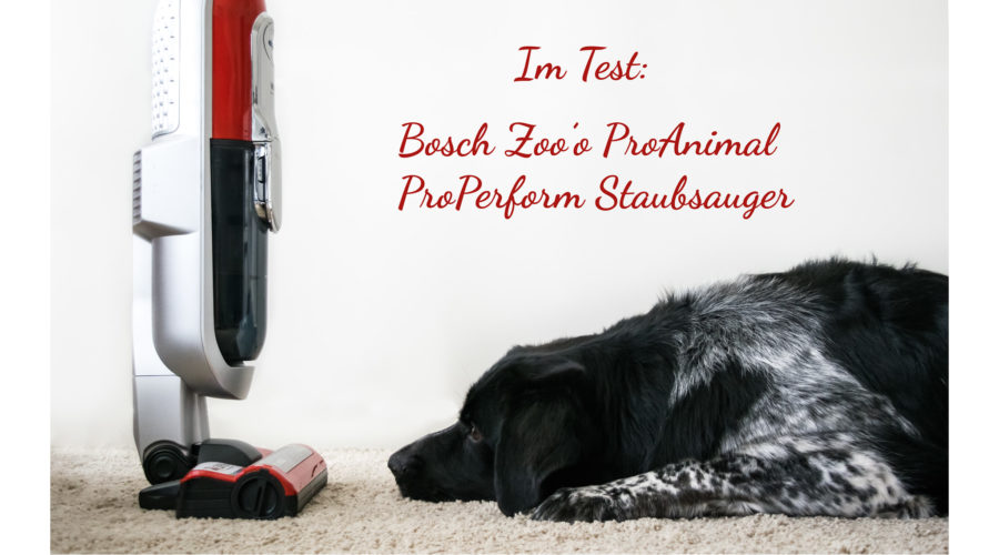 Test Bosch Zoo'o ProAnimal ProPerform Staubsauger
